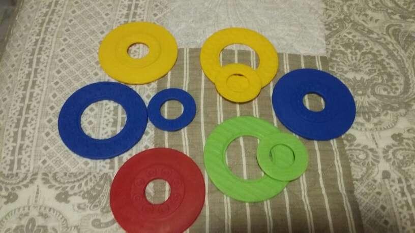 Imagen producto Lote juguetes bebé : bloques construcción y puzzles  2