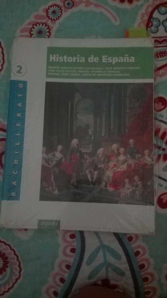 Imagen libro historia de españa 2 bachillerato