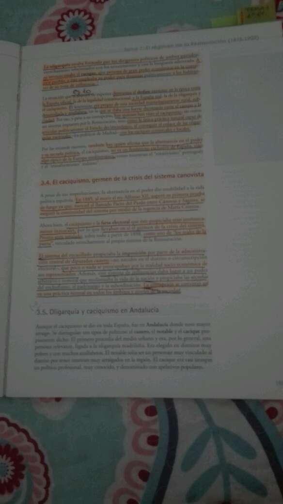 Imagen producto Libro historia de españa 2 bachillerato 3