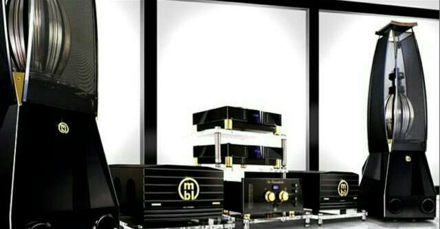 Imagen Espectacular equipo de sonido MBL serie Reference, high end audio made in Germany