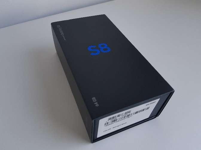 Imagen samsung Galaxy s8 a estrenar 64gb.