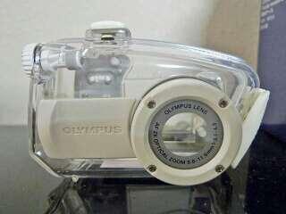 Imagen Carcasa acuatica para Olympus u mini Digital Stylus CWPC-01 nuevo ha extrenar.