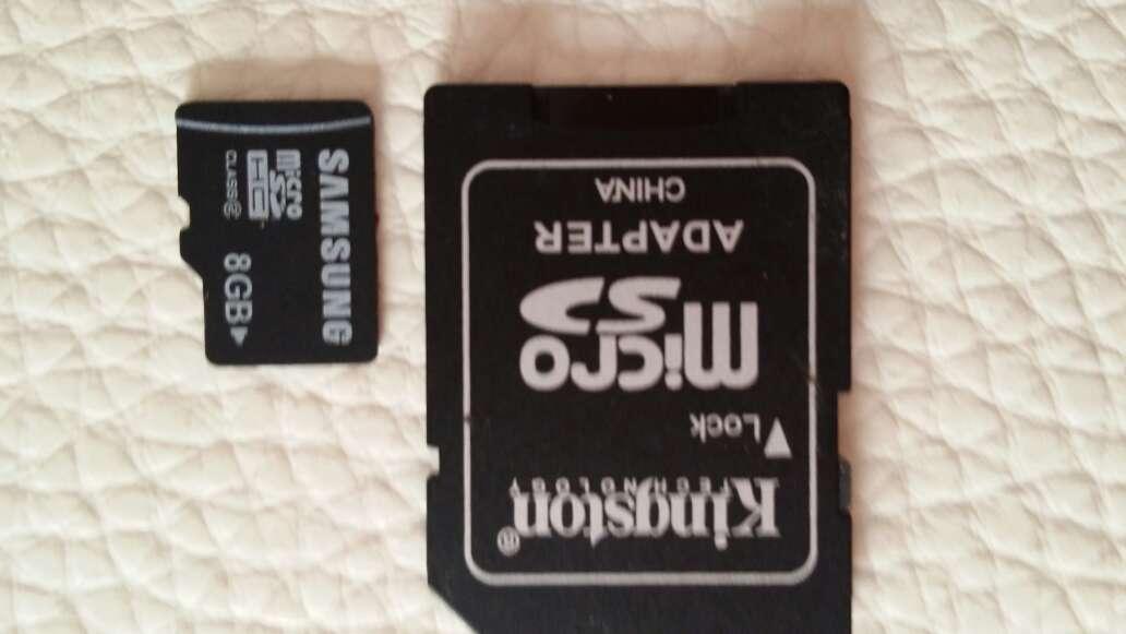 Imagen tarjeta Samsung de 8g