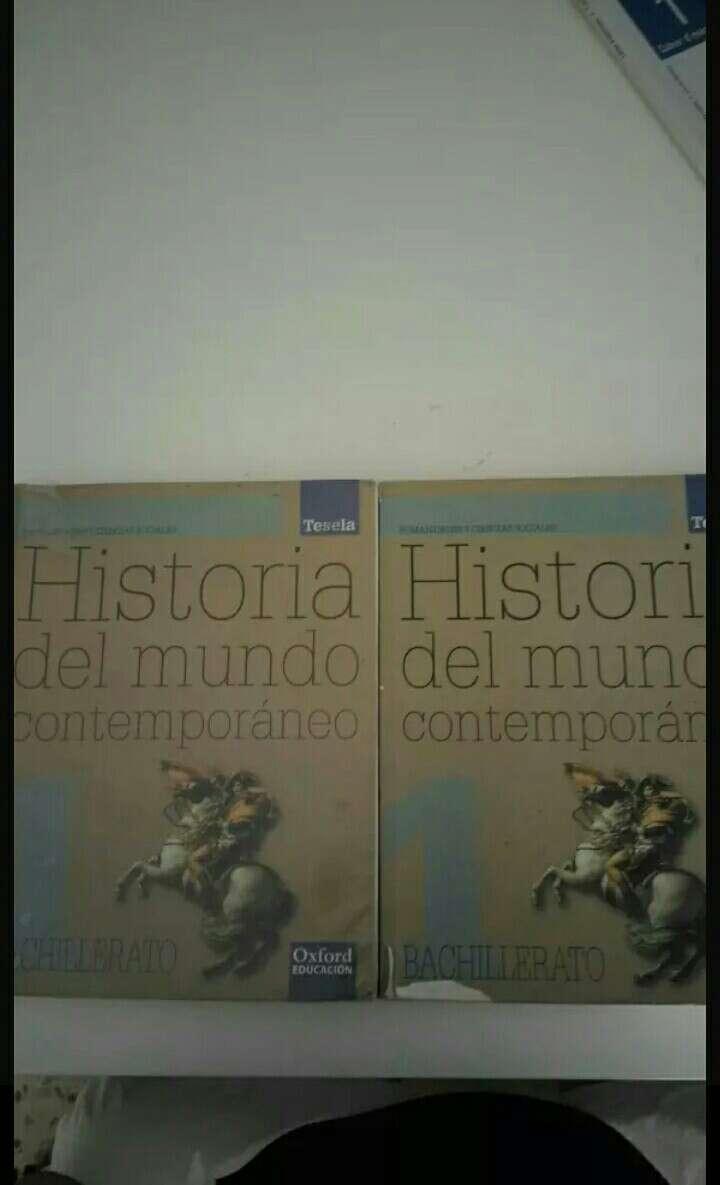 Imagen Libros de 1 de bachillerato