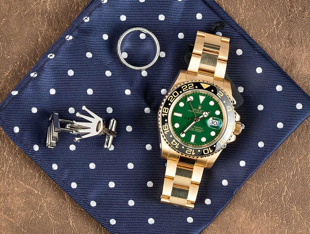 Imagen producto 24k gold rolex watch  1
