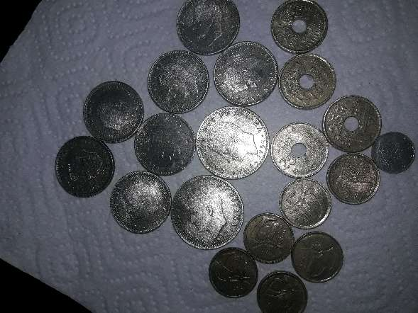 Imagen Monedas de pesetas