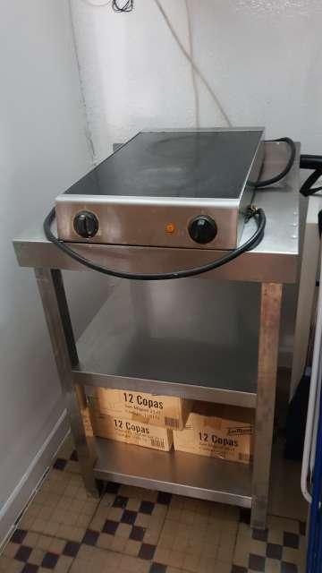 Imagen producto  cocina electrico plancha 3