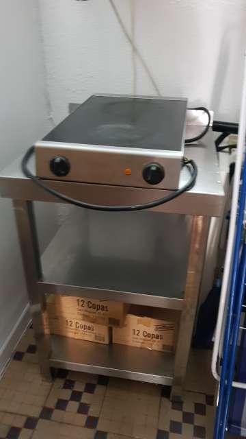 Imagen producto  cocina electrico plancha 5