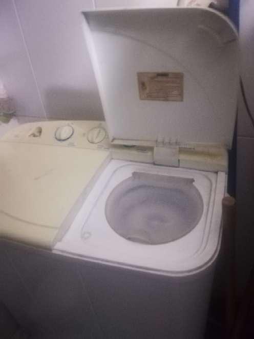 Imagen lavadora semiautomática