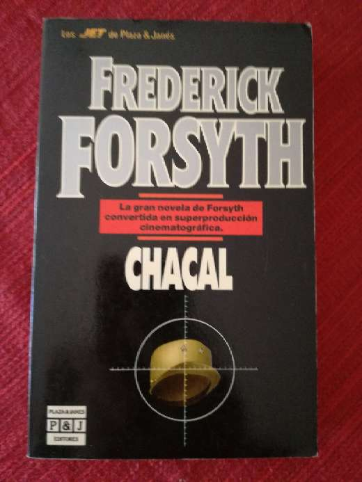Imagen Chacal, Frederick Forsyth