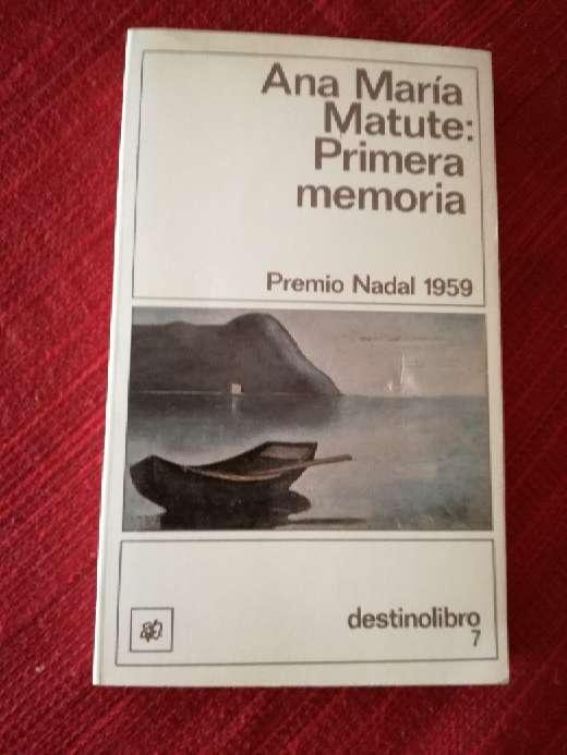 Imagen Primera memoria, Ana María Matute