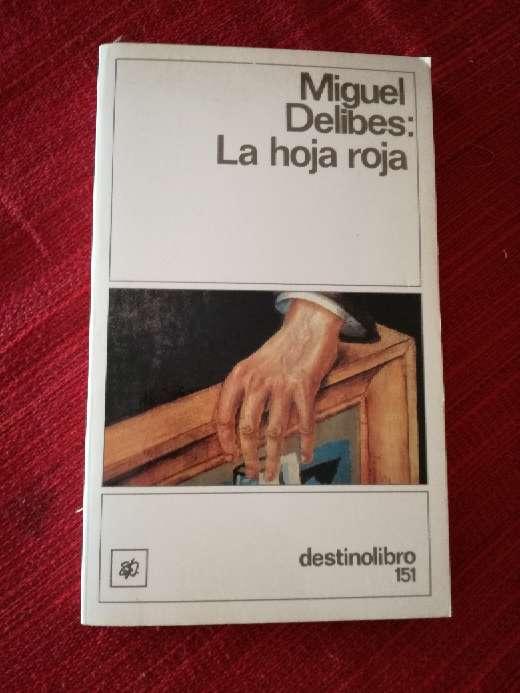 Imagen La hoja roja, Miguel Delibes