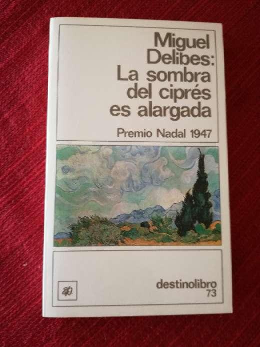 Imagen La sombra del ciprés es alargada, Miguel Delibes
