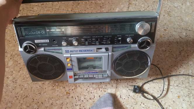 Imagen producto Radio cassette  1