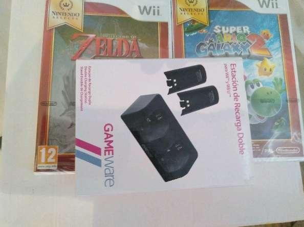 Imagen consola Wii+juegos y accesorios