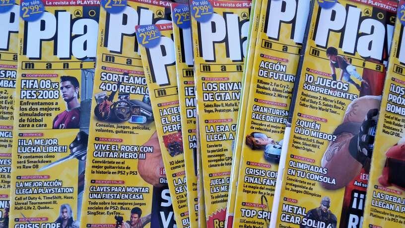 Imagen Lote 200 revistas Play