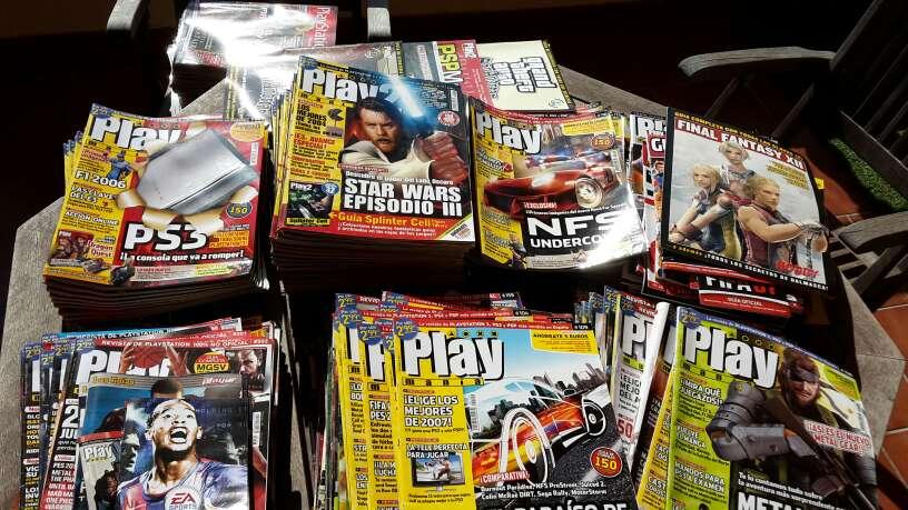 Imagen producto Lote 200 revistas Play 3