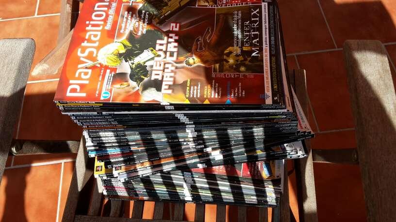 Imagen producto Lote 200 revistas Play 4