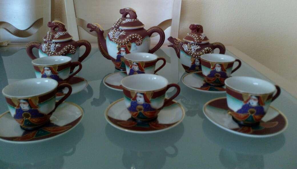 Imagen Juego de té porcelana china