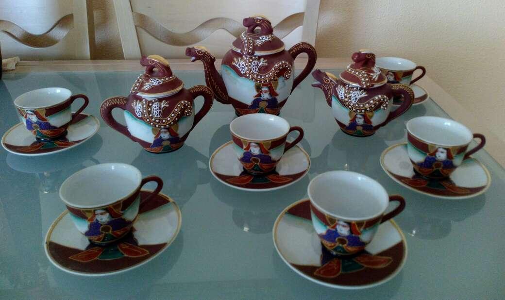 Imagen producto Juego de té porcelana china 2