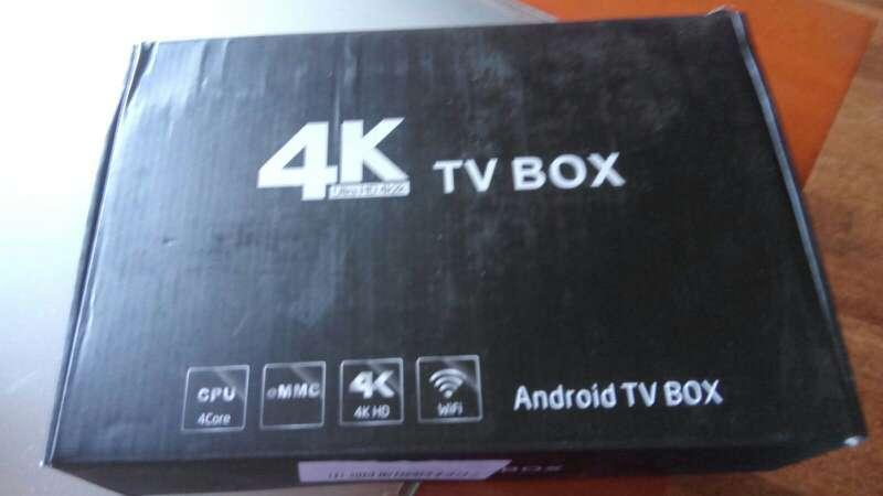 Imagen smart TV o Box TV