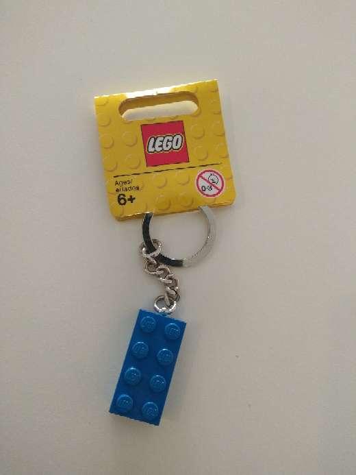 Imagen Llavero lego pieza azul