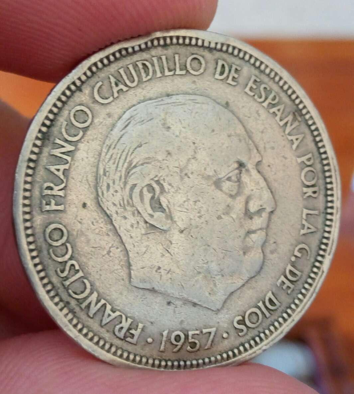 Imagen moneda Franco 50 pesetas