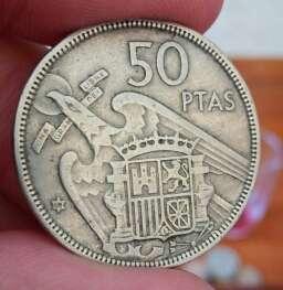 Imagen producto Moneda Franco 50 pesetas 2