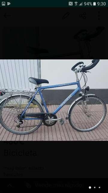 Imagen bicicleta Hércules nepal