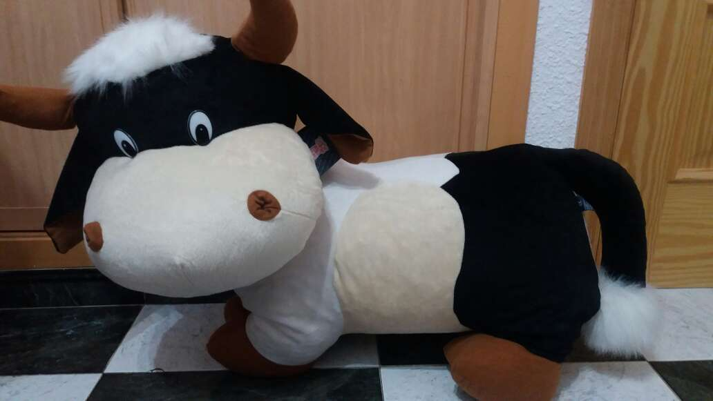 Imagen peluche de vaca
