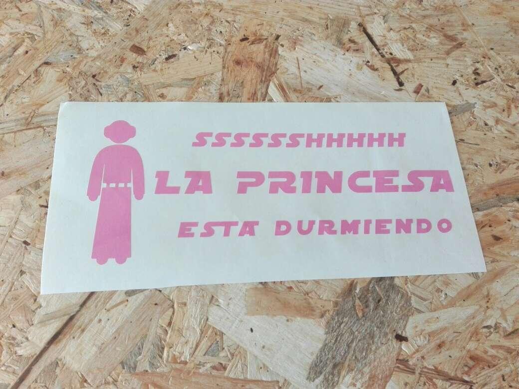 Imagen Pegatinas stickers bebés personalizadas princesa