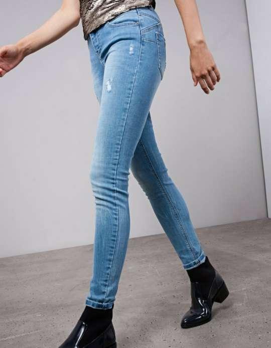 Imagen Jeans Skinny Fit Stradivarius
