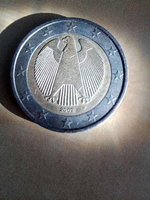 Imagen moneda Alemania 2002