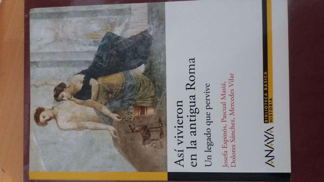 Imagen libro sobre Roma