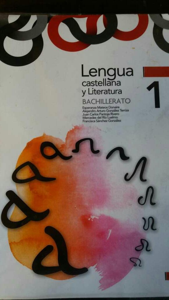 Imagen Libro lengua 1 bachillerato