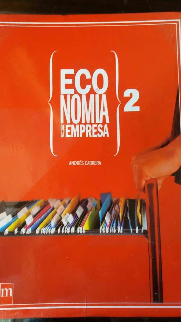 Imagen libro de economía 2 bachillerato