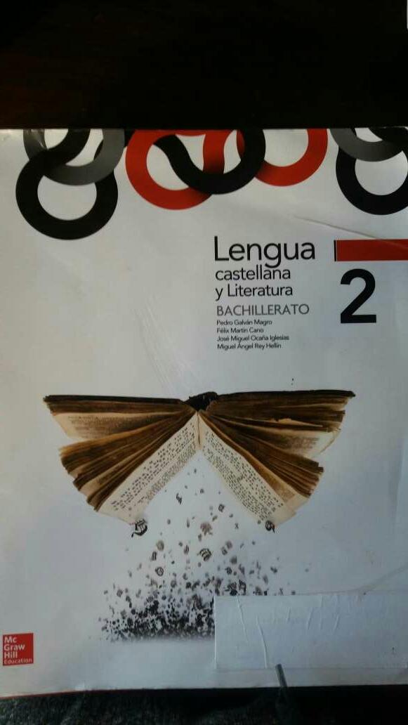 Imagen libro lengua de 2 bachillerato