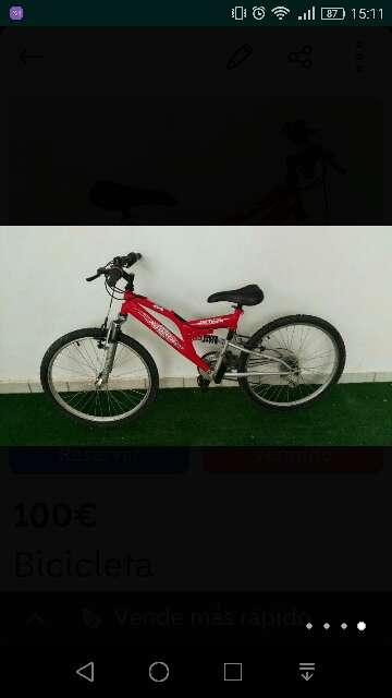 Imagen bicicleta x track active