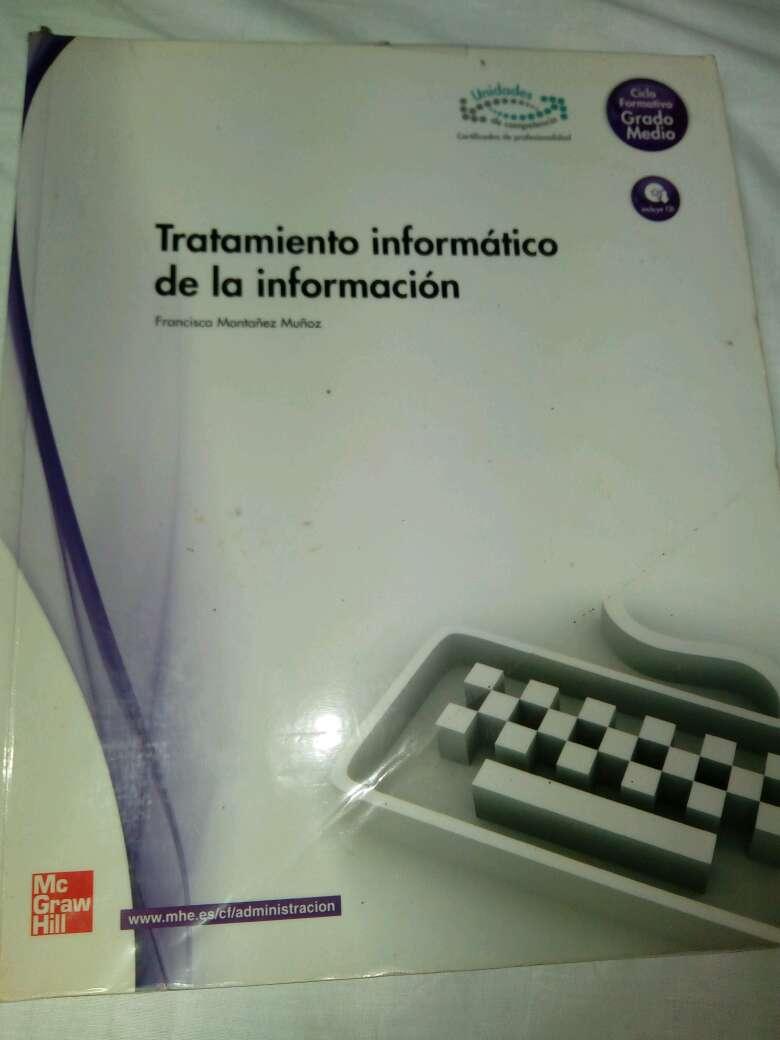 Imagen libro tratamiento informatico de la informacion