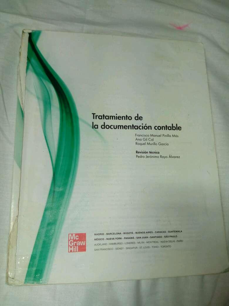 Imagen libro tratamiento de la documentacion contable