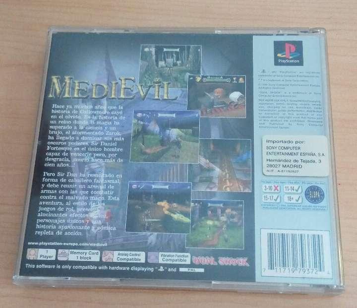 Imagen producto Juego PlayStation Medievil 1
