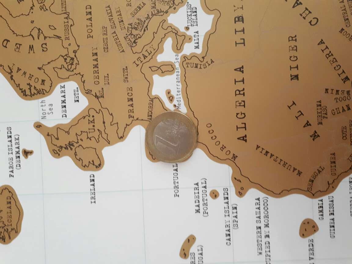 Imagen producto Scratch Map (mapamundi para rascar) 4