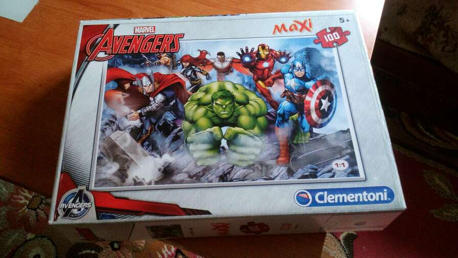 Imagen puzzle hulk