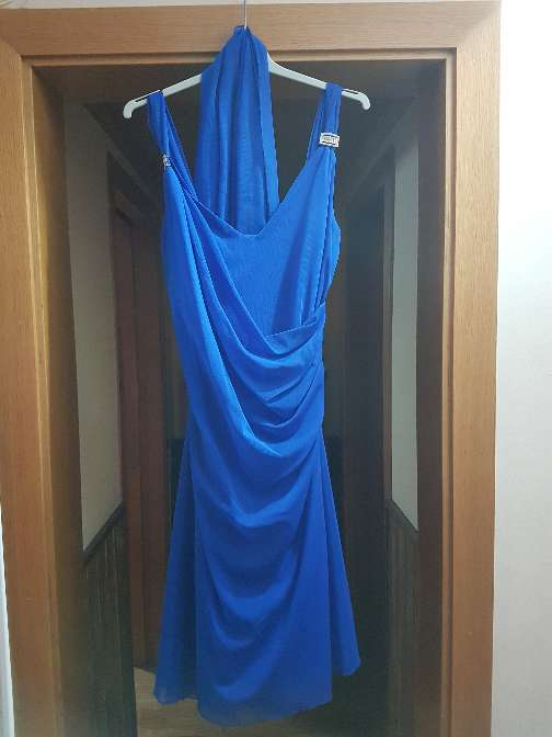 Imagen vestido de boda azul nuevo