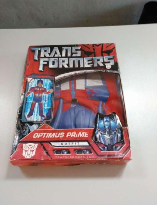 Imagen Disfraz Transformers