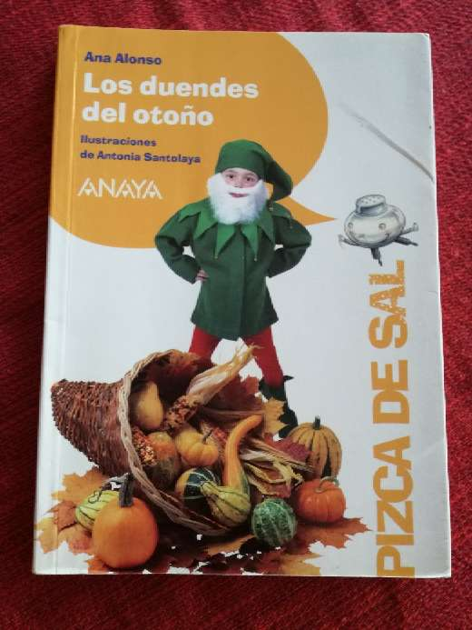 Imagen Los duendes del otoño, Ana Alonso