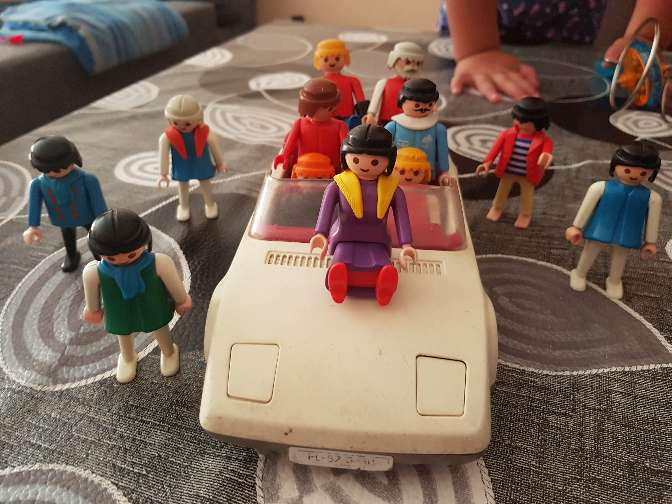 Imagen Familia de playmobil  antiguos