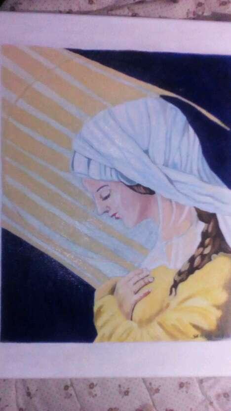 Imagen producto Cuadro virgen maria 2