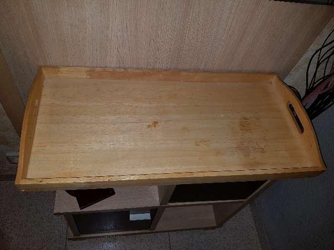Imagen producto Bandeja de madera sin barnizar 2