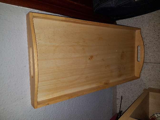 Imagen Bandeja de madera sin barnizar
